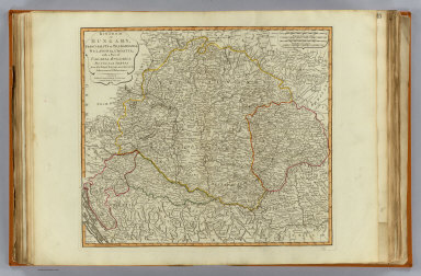 Kingdom of Hungary, Principality of Transilvania, Sclavonia, Croatia, with a part of Valakia, Bulgaria, Bosnia and Servia from the latest surveys, ascertained by astronomical observations. London, Published by Laurie & Whittle, No. 53 Fleet Street, as the act directs 12th May, 1794.
