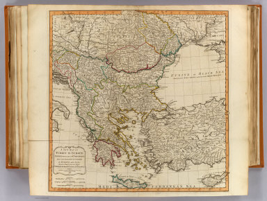 A new map of Turkey in Europe divided into all its provinces, with the adjacent countries in Europe and Asia : drawn chiefly from the maps published by the Imperial Academy of St. Petersburg. London, Published by Laurie & Whittle, No. 53, Fleet Street, as the act directs 12th May, 1794. F. Vivares sculpt.