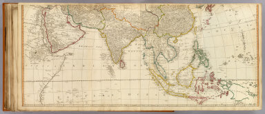 Asia (middle) / (Anville, Jean Baptiste Bourguignon d, 1697-1782; Kitchin, Thomas; Robert Laurie & James Whittle) / 1799