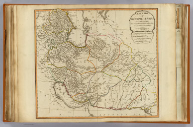 A new map of the Empire of Persia from Monsr. D'Anville, First Geographer to the most Christian King, with several additions and emendations. London, Published by Laurie & Whittle, 53, Fleet Street, as the act directs 12th May, 1794.