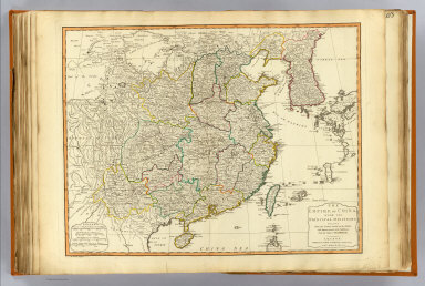 The Empire of China, with its principal divisions, drawn from the surveys made by the Jesuits, with improvements and additions, from the maps of Monsr. D'Anville. London, Published by Laurie & Whittle, 53 Fleet Street, as the act directs 12th May, 1794. M. Bowen, sculpt.