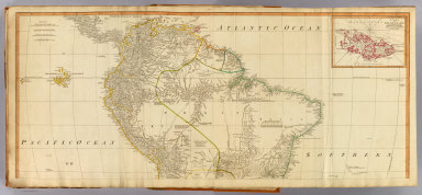 (South America north) / (Kitchin, Thomas; Robert Laurie & James Whittle; Anville, Jean Baptiste Bourguignon d, 1697-1782) / 1794