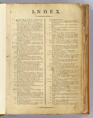 Contents: (New universal atlas) / Kitchin, Thomas; Robert Laurie & James Whittle / 1802