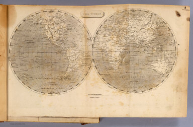 The world. / Arrowsmith, Aaron; (Lewis, Samuel) / 1804