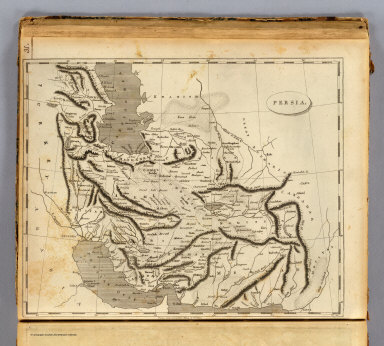 Persia. From Arrowsmith's map of Persia. Tanner sc. (Published by John Conrad & Co., Philadelphia. 1804)