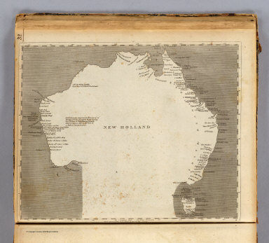 New Holland. From Arrowsmith's large chart of the Pacific Ocean. (Published by John Conrad & Co., Philadelphia. 1804)