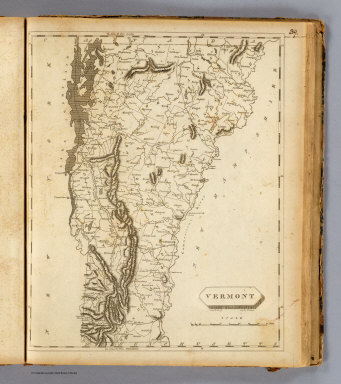 Vermont. Drawn by S. Lewis. Engd. by D. Fairman. (Published by John Conrad & Co., Philadelphia. 1804)
