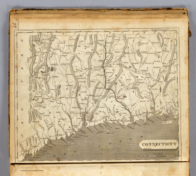 Connecticut. Drawn by S. Lewis. (Published by John Conrad & Co., Philadelphia. 1804)
