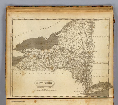 New York. Drawn by S. Lewis. Tanner, sc. (Published by John Conrad & Co., Philadelphia. 1804)