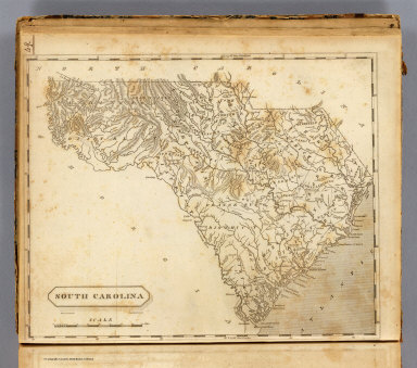South Carolina. Drawn by S. Lewis. Engd. by D. Fairman. (Published by John Conrad & Co., Philadelphia. 1804)