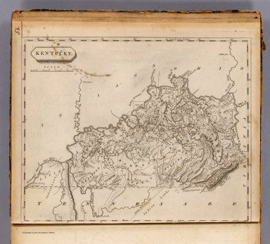 Kentucky. Drawn by S. Lewis & eng'd. by W. Harrison, Junr. (Published by John Conrad & Co., Philadelphia. 1804)