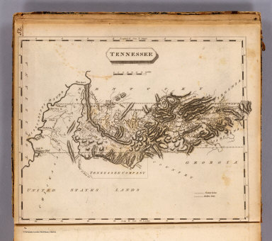 Tennessee. Drawn by S. Lewis. Engraved by Lawson. (Published by John Conrad & Co., Philadelphia. 1804)