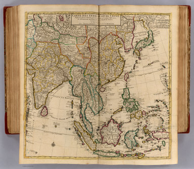 Indes, la Chine. / Lisle, Guillaume de, 1675-1726; Covens et Mortier / 1742