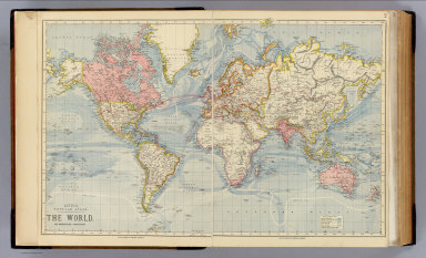 The world. / Letts, Son & Co. / 1883