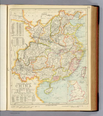 China. / Letts, Son & Co. / 1883