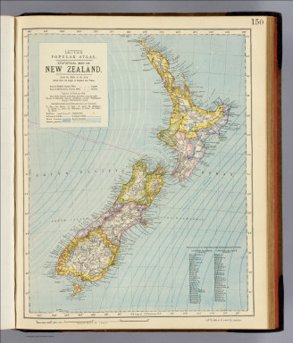 New Zealand. / Letts, Son & Co. / 1883