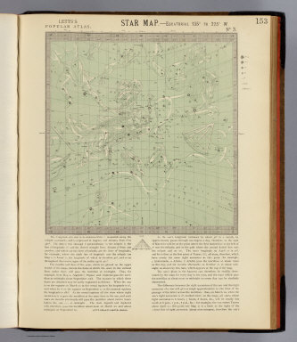 Star map 135-225 W. / Letts, Son & Co. / 1883