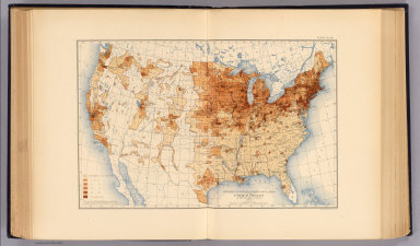 Density of foreign born population of the United States at the twelfth census, 1900. Compiled by Henry Gannett, Geographer. (United States Census Office, 1903). Julius Bien & Co., N.Y.