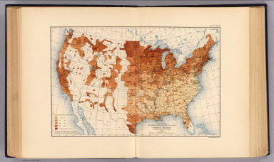 Proportion of foreign born to total population of the United States at the twelfth census, 1900. Compiled by Henry Gannett, Geographer. (United States Census Office, 1903). Julius Bien & Co., N.Y.