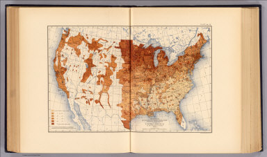 Proportion of whites of foreign parentage to total population of the United States at the twelfth census, 1900. Compiled by Henry Gannett, Geographer. (United States Census Office, 1903). Julius Bien & Co., N.Y.