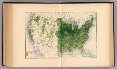 Production of all grains per square mile of total area at the twelfth census, 1900. Compiled by Henry Gannett, Geographer. (United States Census Office, 1903). Julius Bien & Co., N.Y.