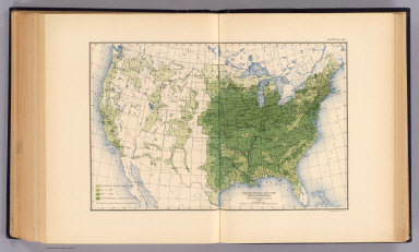 Production of corn per square mile of total area at the twelfth census, 1900. Compiled by Henry Gannett, Geographer. (United States Census Office, 1903). Julius Bien & Co., N.Y.