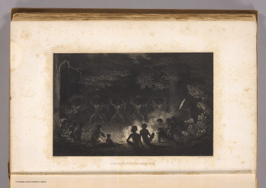 Corrobory Dance, N.H. Drawn by A.T. Agate. Engd. by E.G. Dunnell. (Philadelphia: Lea & Blanchard. 1845)