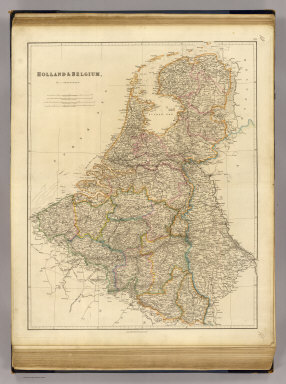Holland & Belgium, by J. Arrowsmith. London, pubd. 15 Feby. 1832 by J. Arrowsmith, 35 Essex Street, Strand.