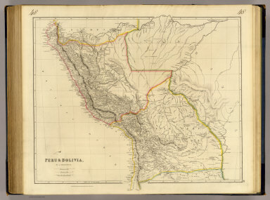 Peru & Bolivia, by J. Arrowsmith. London, pubd. 15 Feby. 1834 by J. Arrowsmith, 35 Essex Street, Strand.