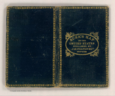 (Covers to) United States. By David H. Burr. Published by J.H. Colton & Co. New York. 9 Wall Street. 1833. Engraved by S. Stiles & Co., N. York. Entered ... 1833, by J.H. Colton & Co. ... New York.