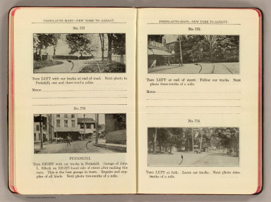 Photo-auto maps--New York to Albany. No. 777. (Buchanan). No. 776. Peekskill. No. 775 ... No. 774. (Peekskill. Compiled by Gardner S. Chapin and Arthur H. Schumacher. Copyright, 1907, by G.S. Chapin, Chicago. Published by the Motor Car Supply Co. ... The Automobile Supply Co. ... Chicago, Ill.)