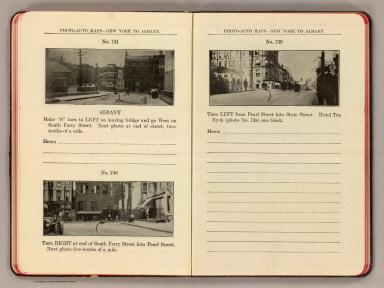 Photo-auto maps--New York to Albany. No. 741. Albany. No. 740 ... No. 739. (Albany. Compiled by Gardner S. Chapin and Arthur H. Schumacher. Copyright, 1907, by G.S. Chapin, Chicago. Published by the Motor Car Supply Co. ... The Automobile Supply Co. ... Chicago, Ill.)