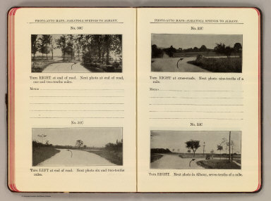 Photo-auto maps--Saratoga Springs to Albany. No. 50C ... No. 51C. (Cohoes). No. 52C ... No. 53C. (Albany. Compiled by Gardner S. Chapin and Arthur H. Schumacher. Copyright, 1907, by G.S. Chapin, Chicago. Published by the Motor Car Supply Co. ... The Automobile Supply Co. ... Chicago, Ill.)