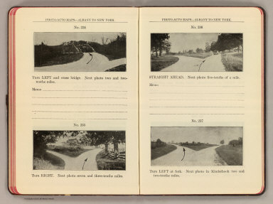 Photo-auto maps--Albany to New York. No. 234. (Castleton-on-Hudson). No. 235 ... 237. (Kinderhook. Compiled by Gardner S. Chapin and Arthur H. Schumacher. Copyright, 1907, by G.S. Chapin, Chicago. Published by the Motor Car Supply Co. ... The Automobile Supply Co. ... Chicago, Ill.)