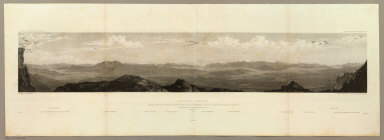 Goshoot Passage showing 65 miles of the proposed line of railroad from the desert west of Great Salt Lake to the Humboldt Mountains. May 17th-20th. C. Schumann from F.W. Egloffstein. Selmar Siebert's Engraving & Printing Establishment, Washington, D.C. U.S.P.R.R. Exp. & Surveys 41st Parallel. Expl. by Lieut. Beckwith. Vol. II.