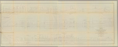 Profiles from Explorations and Surveys made under the direction of the Hon. Jefferson Davis Secretary of War. No. 1 Route near the 41st parallel, from Ft. Bridger to Ft. Reading by Capt. E.G. Beckwith, 3d. Artillery. No. 2 Route near the 38th & 39th parallel, from Westport to Sevier River by Capt. G.W. (i.e. J.W.) Gunnison, Topl. Engrs., assisted by Capt. E.G. Beckwith, 3d. Artillery. Profile made under the supervision of E.G. Beckwith, 3d. Art. 1855. (1861)