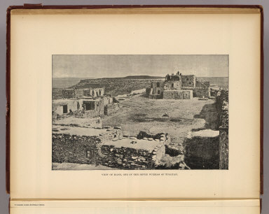 View of Hano, one of the seven pueblos of Tusayan. (1895)