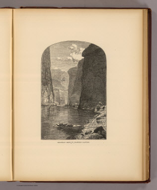 Noonday rest in Marble Canyon. T(homas) M(oran. 1895)