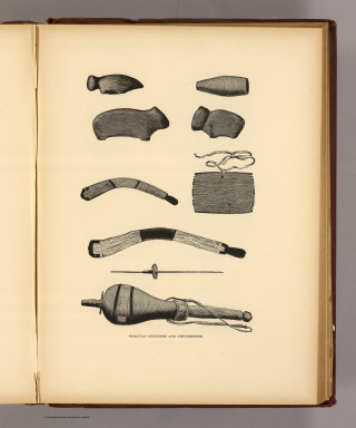 Tusayan fetiches and implements. (1895)