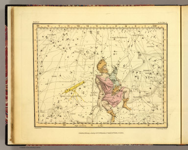 (Auriga, Camelopardalis and Telescopium Herschelii). Published, February 1, 1822, by G. & W.B. Whittaker, T. Cadell & N. Hailes, London. A. Jamieson 1820. Neele & Son, 352 Strand.