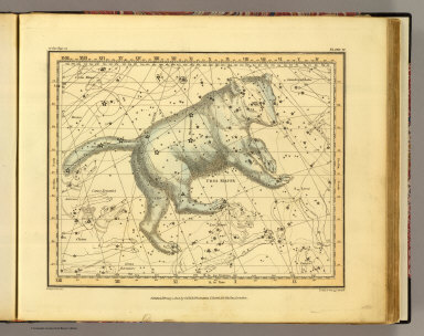 (Ursa Major). Published, February 1, 1822, by G. & W.B. Whittaker, T. Cadell & N. Hailes, London. A. Jamieson for 1820. Neele & Son, 352 Strand.