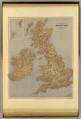 A stereographical map of the British Isles. London atlas series. Stanford's Geographical Establishment. London : Edward Stanford, 26 & 27 Cockspur St., Charing Cross, S.W. (1901)