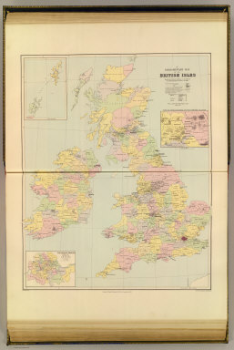 A parliamentary map of the British Isles showing the electoral divisions as described in the Redistribution of Seats Act, 1885. London atlas series. Stanford's Geographical Establishment. London : Edward Stanford, 12, 13 & 14 Long Acre, W.C. (1901)