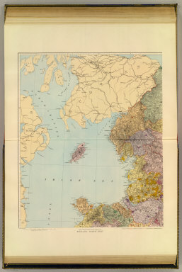 (England and Wales). England, north-west. London atlas series. (Stanford's Geographical Establishment). London : Edward Stanford, 12, 13 & 14, Long Acre, W.C. (1901)