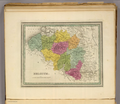 Belgium. (Written and engraved by Jos. Perkins. 1845)