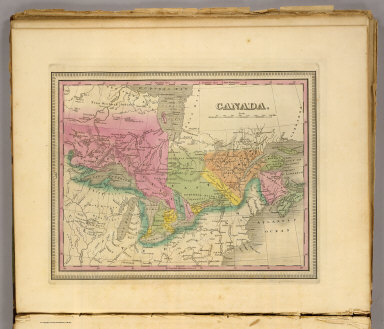 Canada. (Written and engraved by Jos. Perkins. 1845)