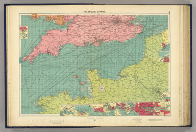 The English Channel. George Philip & Son, Ltd. The London Geographical Institute. (1922)