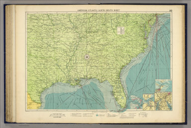 American Atlantic ports--south sheet. George Philip & Son, Ltd. The London Geographical Institute. (1922)
