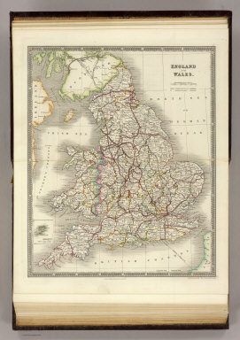England and Wales. London: Published by Henry Teesdale & Co. Drawn & Engraved by J. Dower, Pentonville, London. (1844)
