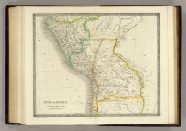 Peru and Bolivia. London: Published by Henry Teesdale & Co. Drawn & Engraved by J. Dower, Pentonville, London. (1844)